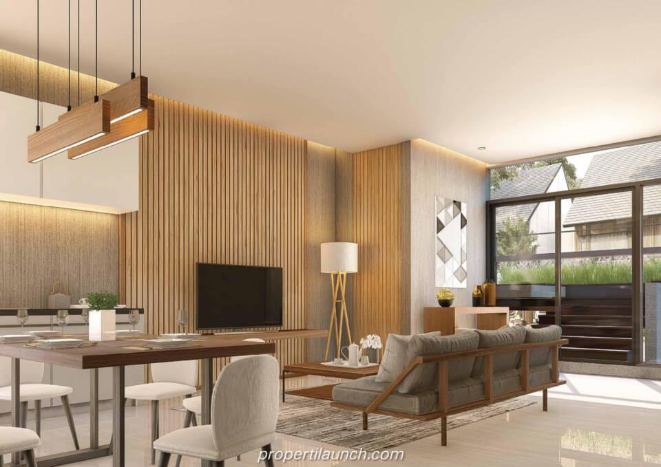 Interior Design Rumah Cluster Caelus Tipe 10