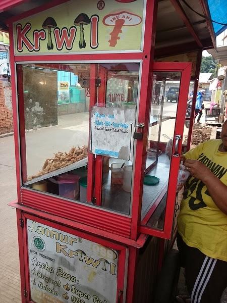 Gerobag Jamur Krispi - Blog Mas Hendra