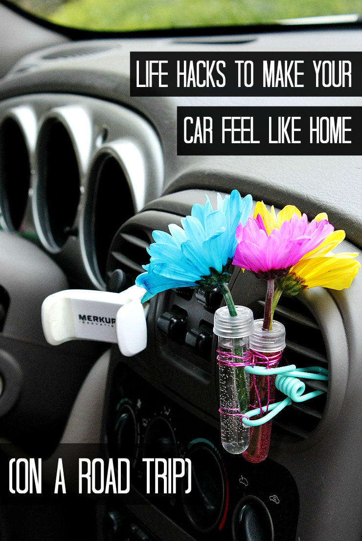 10 Genius Car Hacks For Road Trips- #RoadTripOil #AD