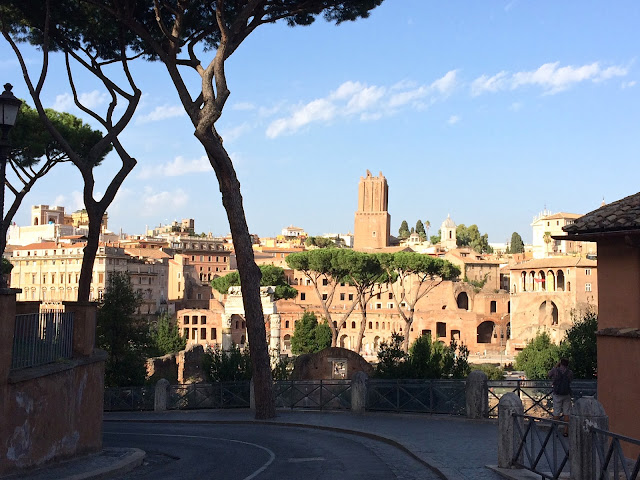 scenic view of buildings in Rome