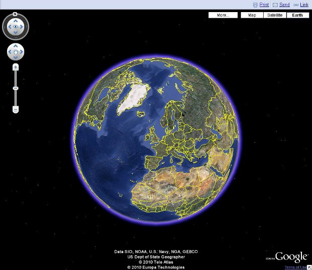 Planet Earth Map (page 4) - Pics about space