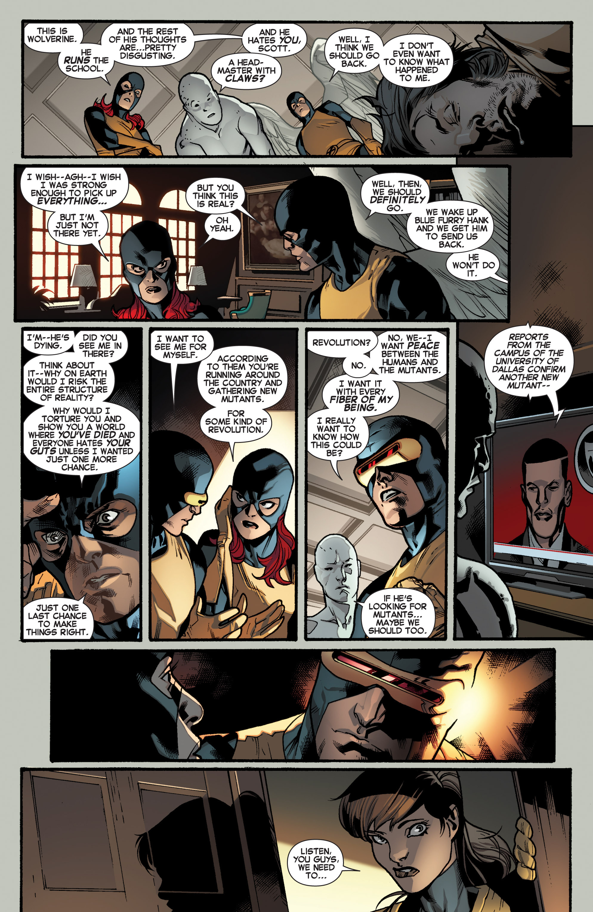 Read online All-New X-Men (2013) comic -  Issue # _Special - Yesterday's X-Men - 43