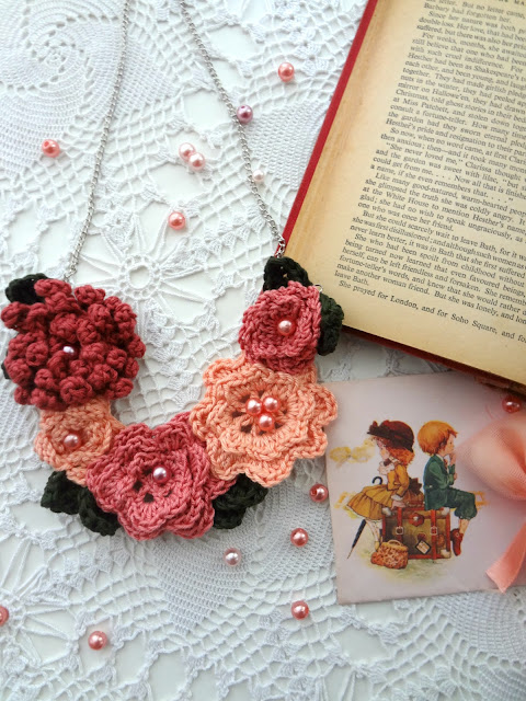 Irish Rose Necklace
