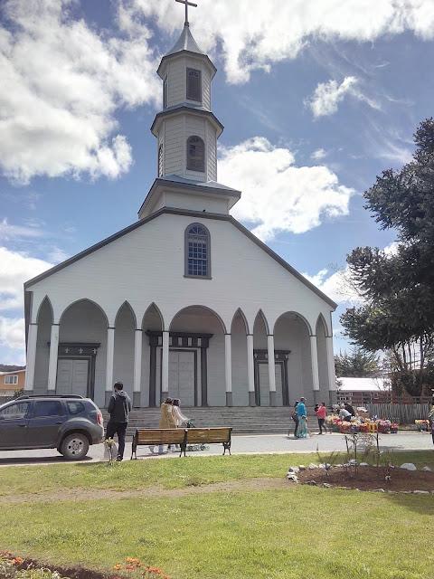 Iglesia de Dalcahue, Isla Grande de Chiloé Chile