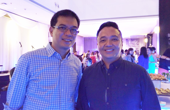DOT RD, Robby Alabado and DATA President, Gatchi Gatchalian