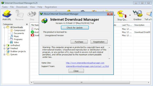 Internet download manager with crack serial number