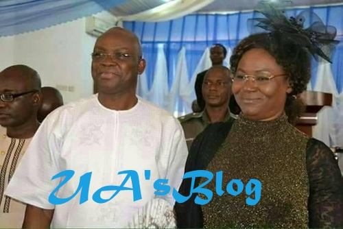Started From The Bottom: See Gov. Fayose And Wife's Epic Throwback Photos After 29-Years Of Marriage