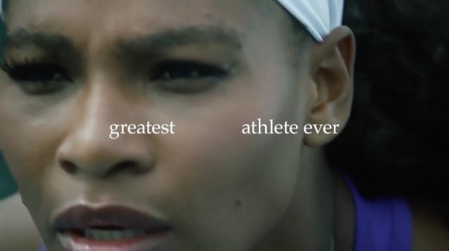 Nike vuelve con Serena, la atleta más grande de la historia