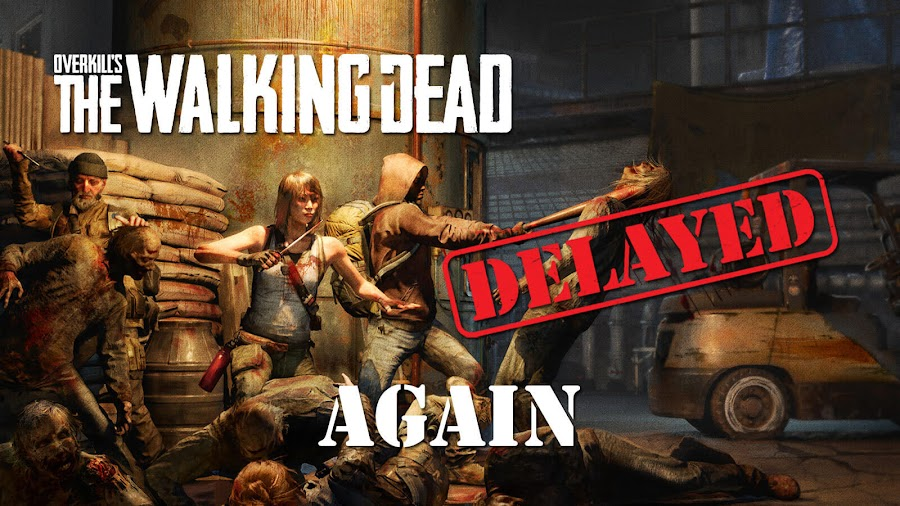 overkills the walking dead ps4 xbox one delayed otwd