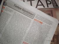 """Türkçemizin yaşayan efsanesi Sayın """"Feyza Hepçilingirler""""in yazdığı ve Cumhuriyet gazetesinin Kitap dergisinde yayınlanan """"Anılar Canlanırken""""le ilgili eleştiri yazısı..."""