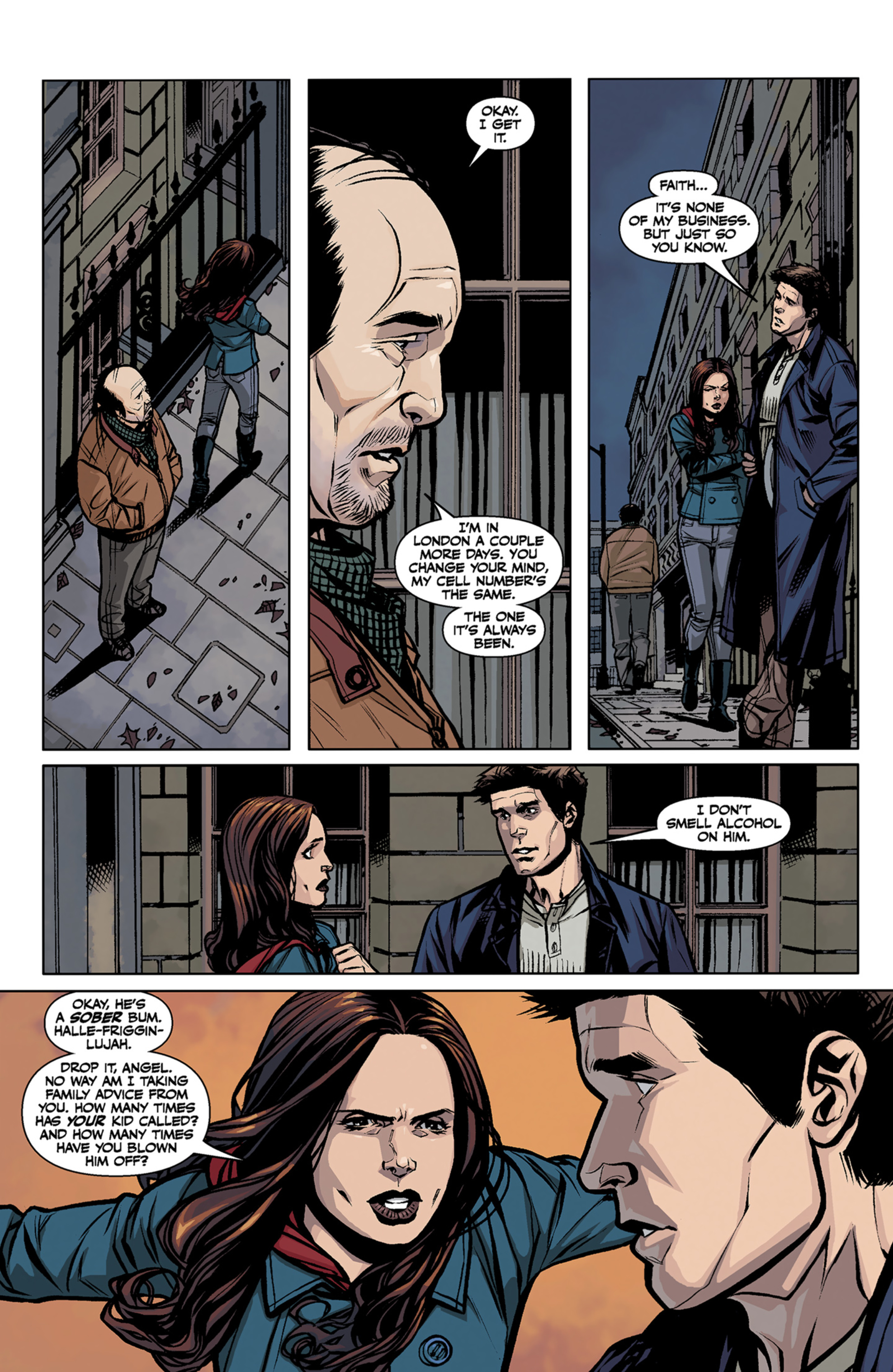 Read online Angel and Faith comic -  Issue #7 - 13