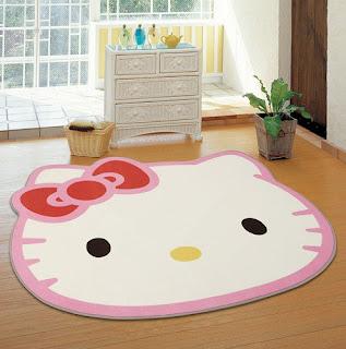Gambar Karpet Hello Kitty yang Lucu 9