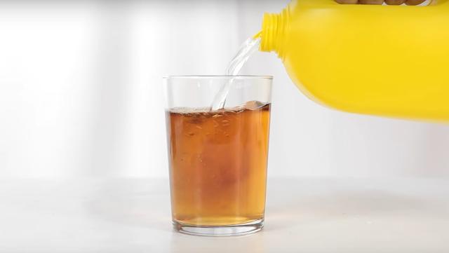 mezcla, coca cola, lejia