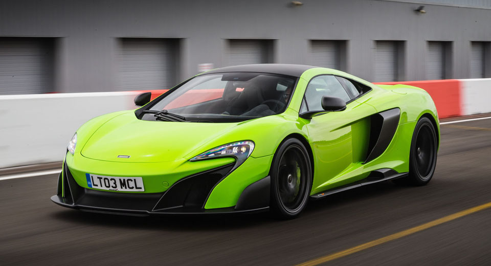 McLaren Delivered A Record 1,654 Supercars In 2015, Projects Double That In 2016