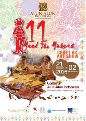 Meet The Makers Craft as Art Show Gallery Alun-Alun Indonesia