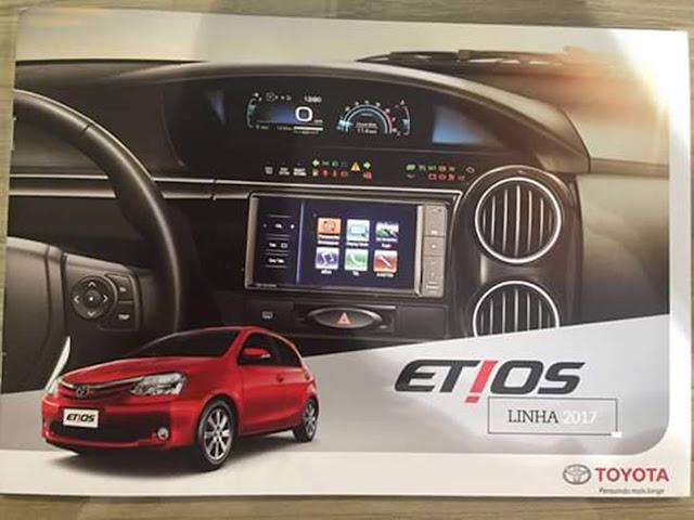 Novo Toyota Etios 2017 - interior
