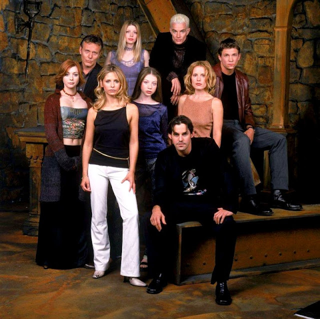 Buffy, the Vampire Slayer cast photo