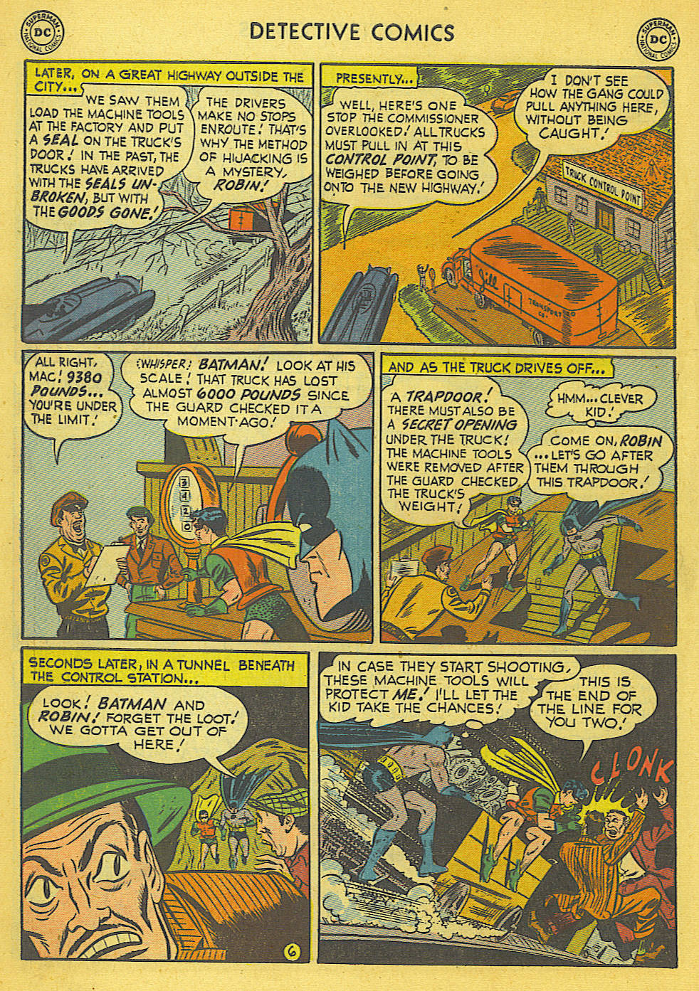 Read online Detective Comics (1937) comic -  Issue #173 - 9