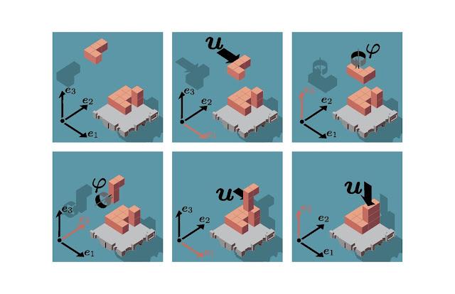 tetris, 3d, rotation, bewegung, jpeg