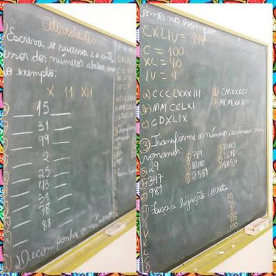 Plano de aula: Números Romanos