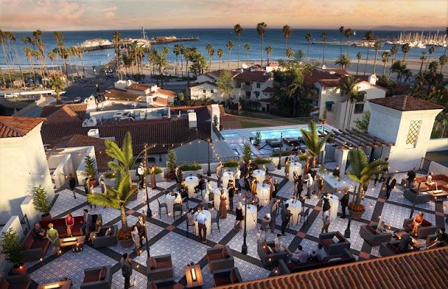 Hotel Californian em Santa Bárbara