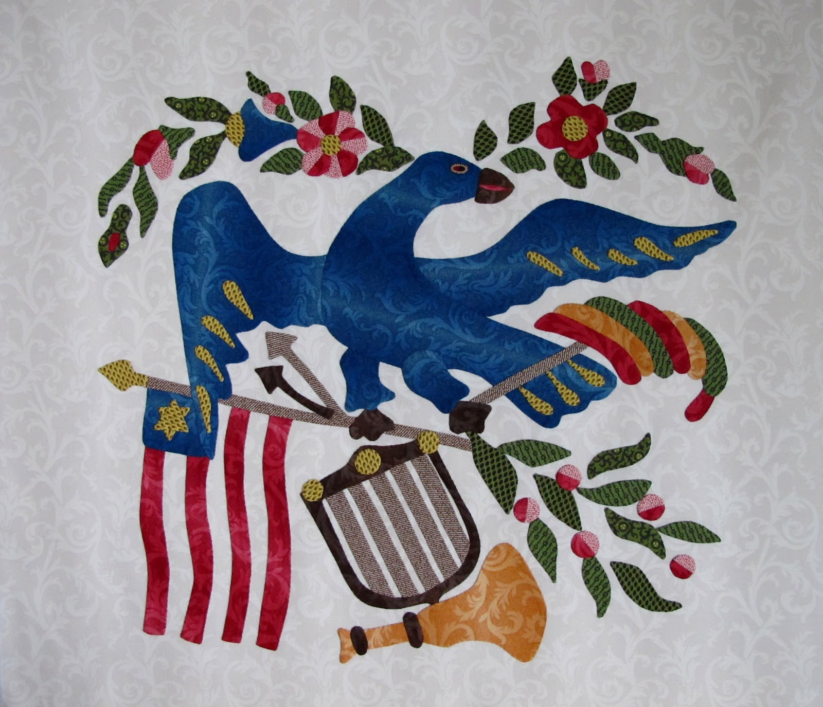 Baltimore Garden Quilts: Baltimore Applique Society's Lady
