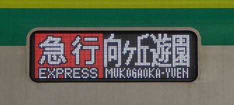 東京メトロ千代田線 小田急線直通 急行 向ヶ丘遊園行き1 16000系