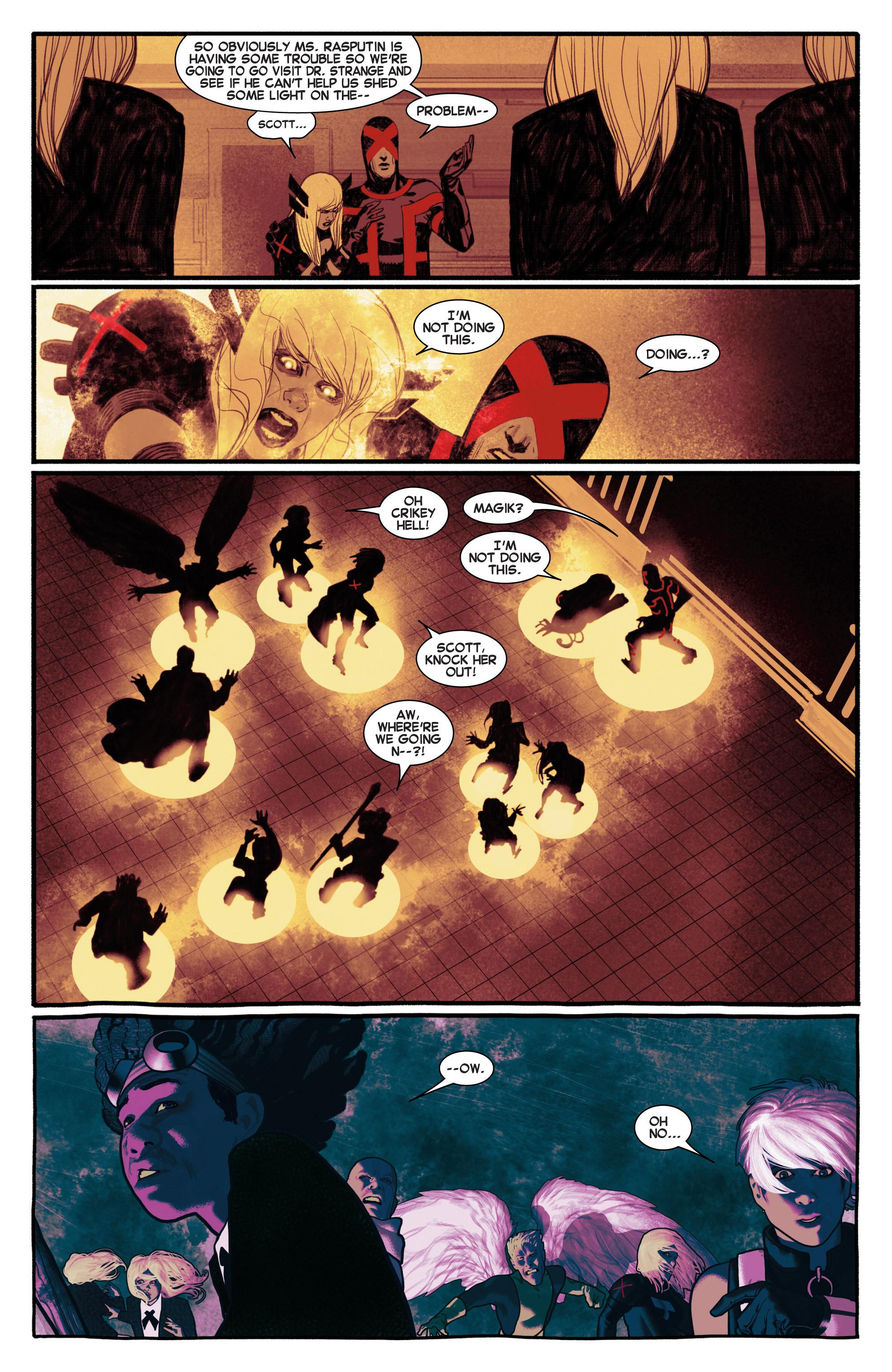 Read online Uncanny X-Men (2013) comic -  Issue #5 - 19