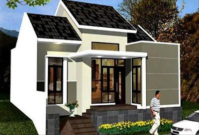Contoh gambar untuk rumah model minimalis dari depan yang moderen