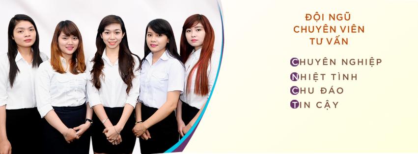 Đội ngũ nhân viên chu đáo, nhiệt tình của Công ty Mỹ Phẩm Hoa Anh Đào