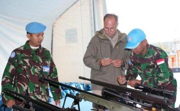 PBB Periksa Alutsista TNI di Lebanon