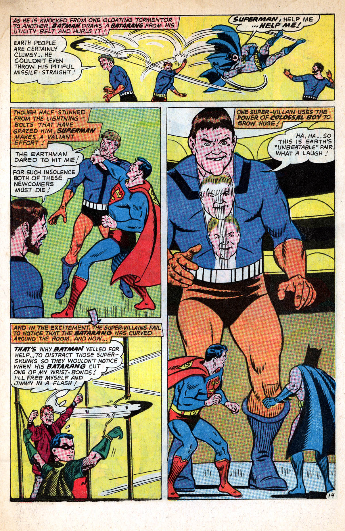 Read online World's Finest Comics comic -  Issue #158 - 19