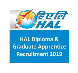 HAL Diploma & Graduate Apprentice Recruitment 2019