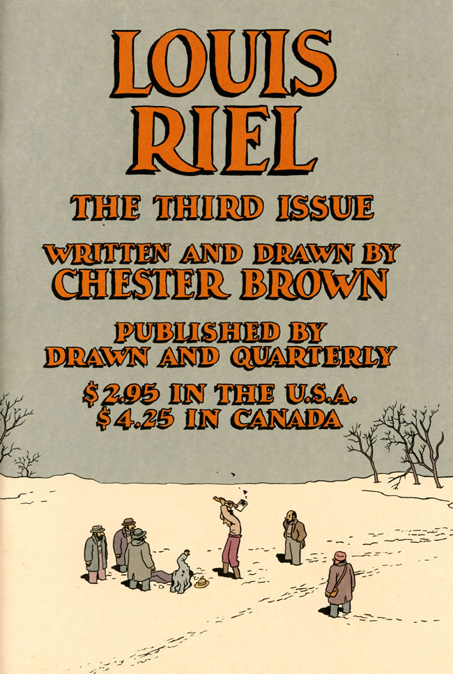 a moment of cerebus getting riel chester brown part one the origin of the of our country seems relevant here by legend one of the early explorers asked one of the natives basically what do you call this