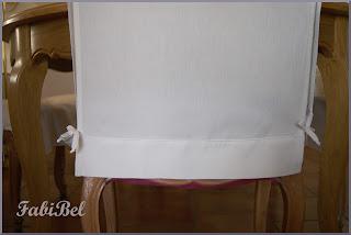 récup' linge ancien housse chaise