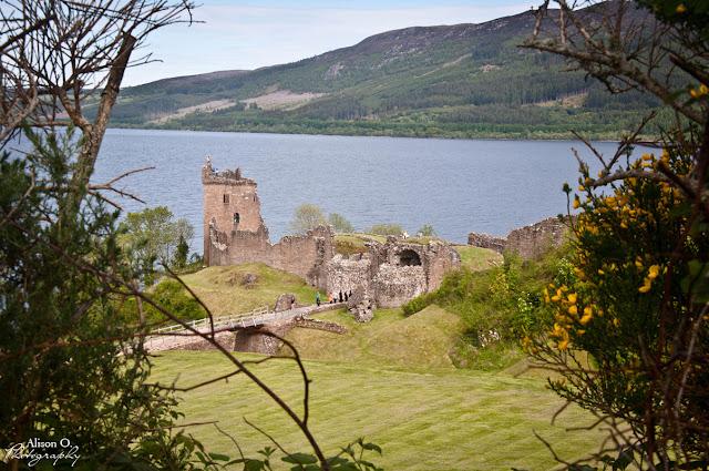 Roadtrip Écosse Urquhart castle château