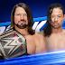 AJ Styles vs. Shinsuke Nakamura é anunciado para o SmackDown Live de amanhã