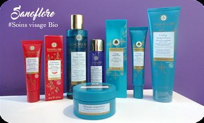 Sanoflore soins cosmétiques visage Bio