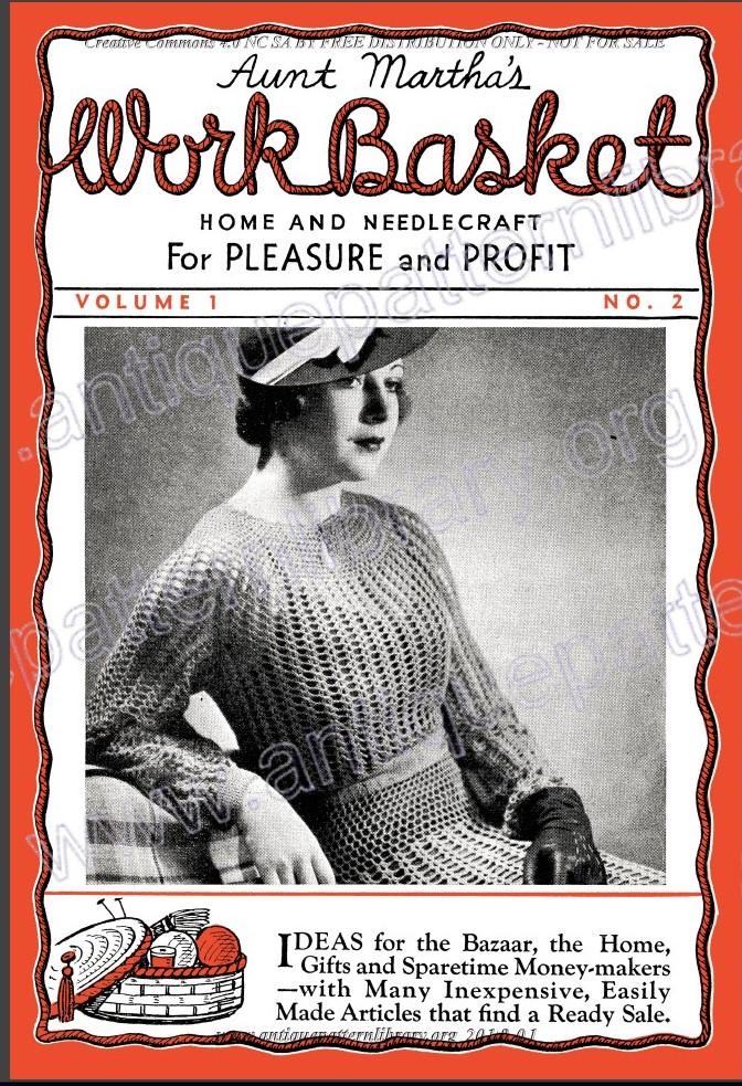 Little Grey Bungalow Aunt Martha S Workbasket Magazine