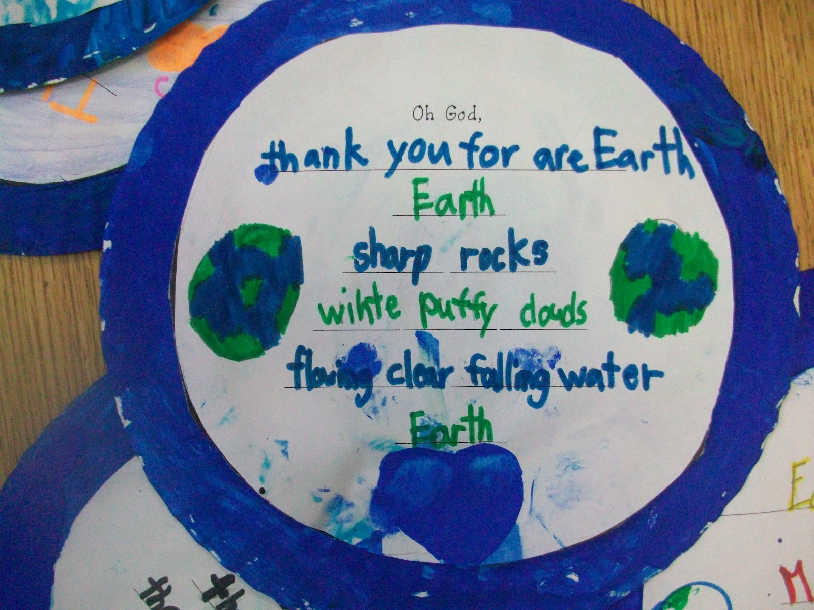 Sarah S First Grade Snippets Earth Day Poetry