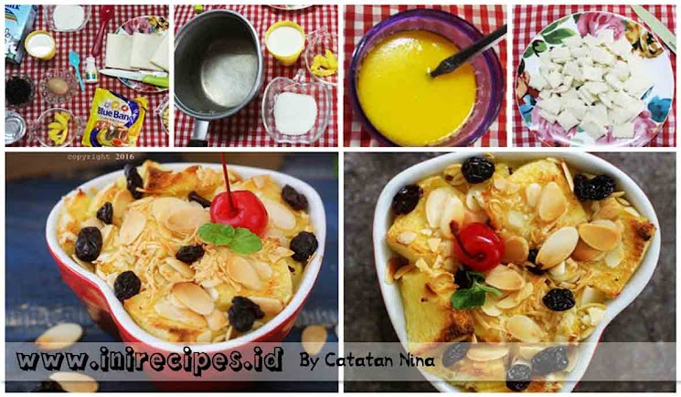 Resep Puding Roti Tawar Choco Cheese Panggang Lezat