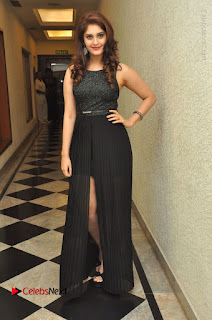 Actress Surabhi Stills in Black Long Dress at turodu Audio Launch  0131.JPG