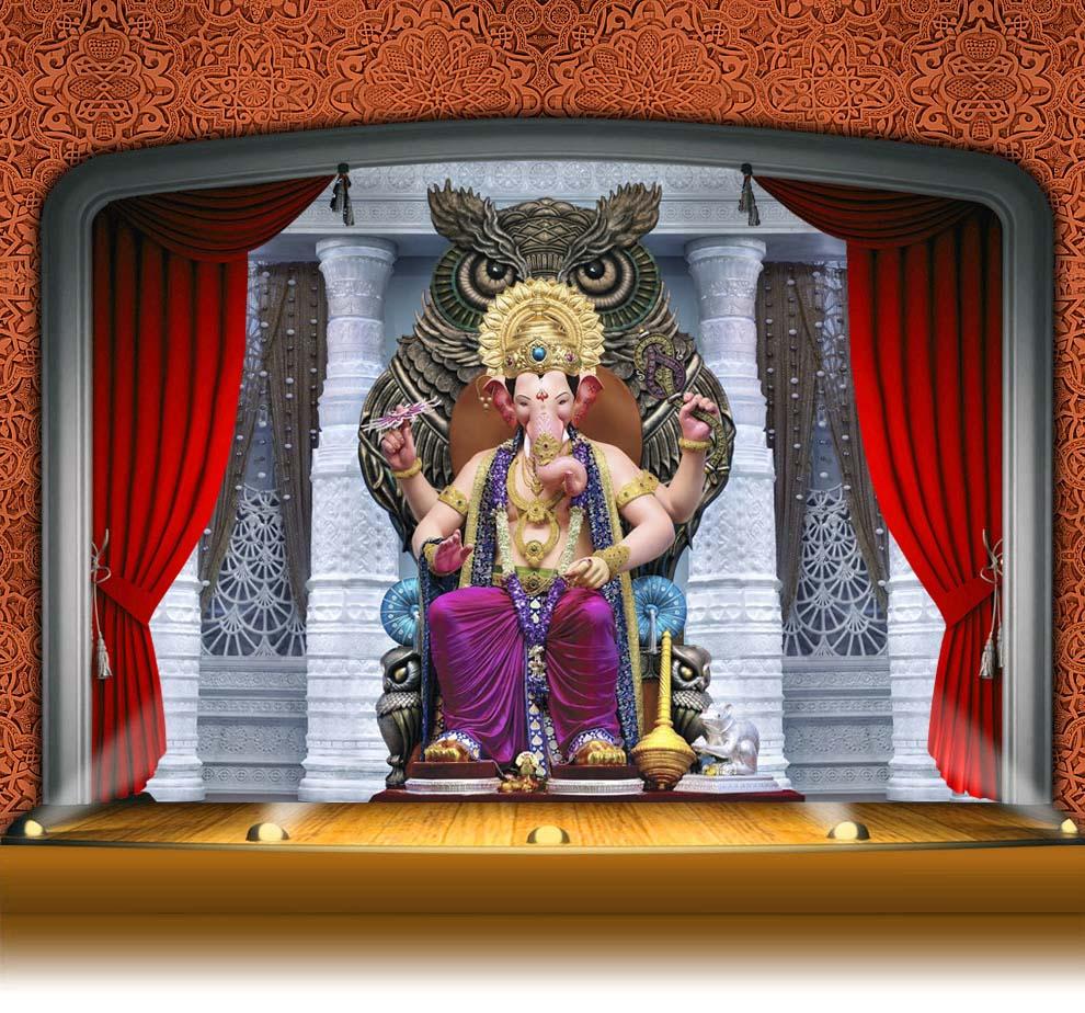 Lalbaugcha Raja 2107 LIVE Darshan