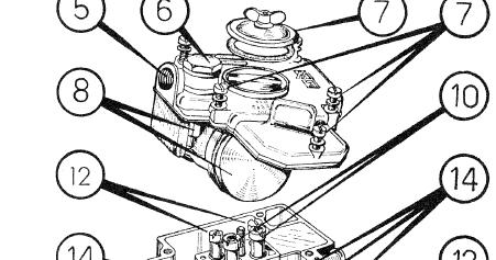 Ferrari 400: Ferrari 400 Weber Carburettor