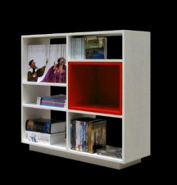 librero estante mueble moderno idecoraa