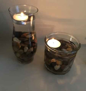 DIY Floating Candle Vases