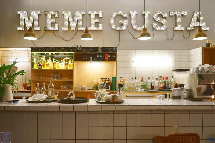 Le Chameau Bleu - Restaurant Mémé Gusta Gand Belgique