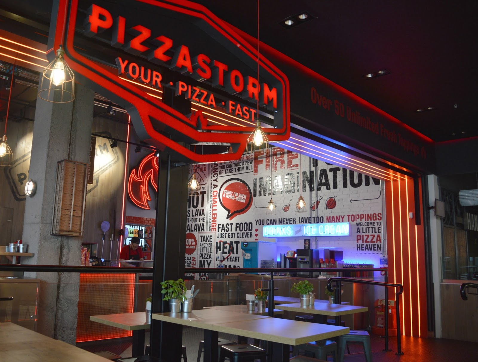 PizzaStorm, Newcastle