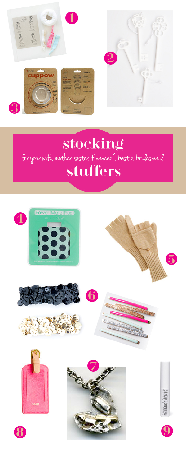 stocking stuffer gift ideas for her from oh lovely day