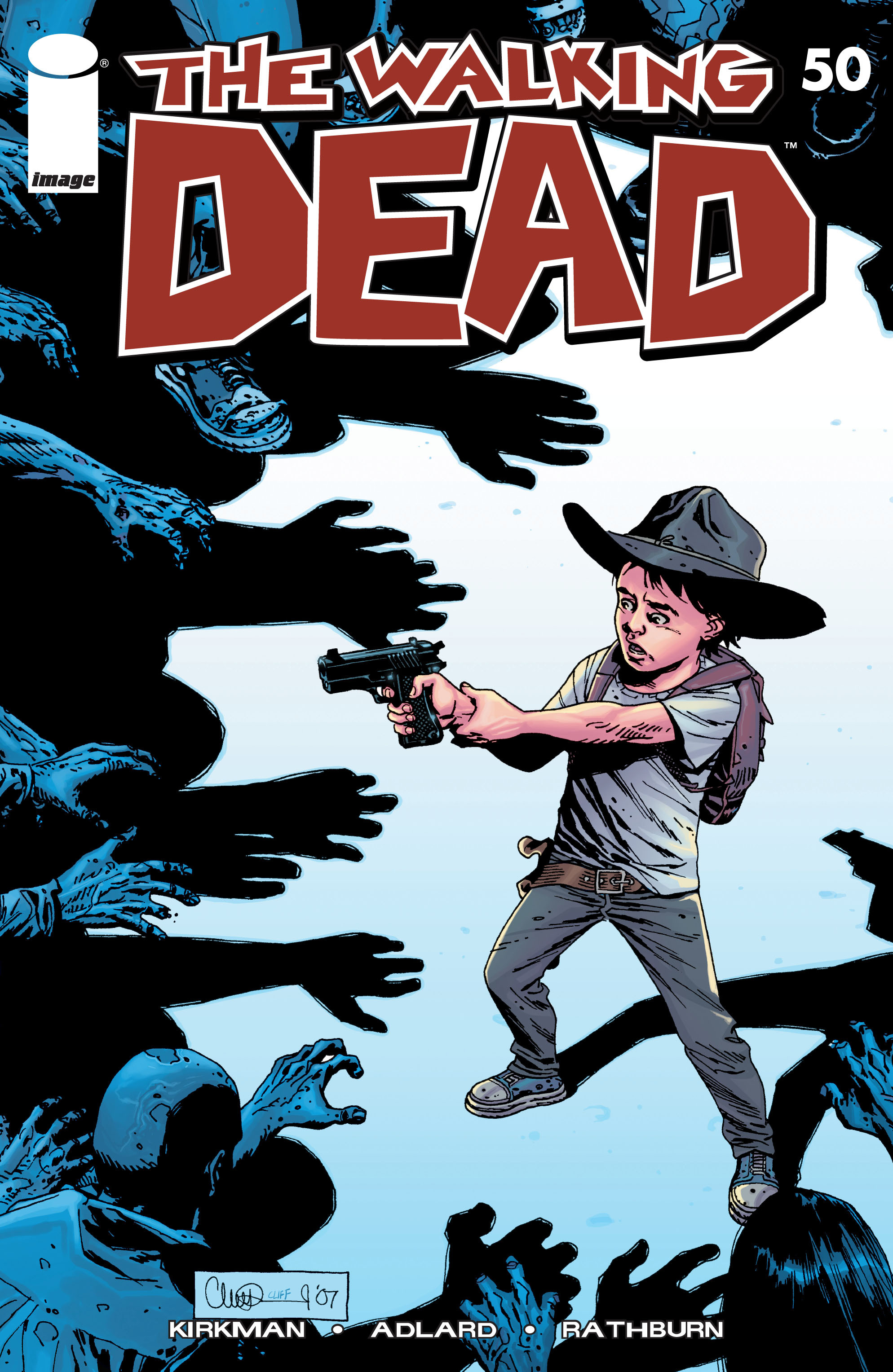 The Walking Dead 50 Page 1
